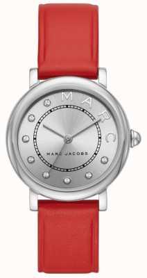 Женские часы Marc Jacobs классические из красной кожи (без коробки) MJ1632