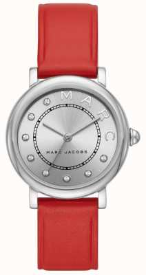 Marc Jacobs Женская марка jacobs классические часы красная кожа MJ1632
