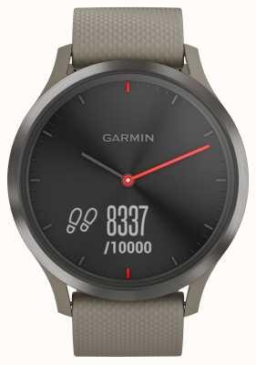 Garmin Vivomove hr трекер активности песчаный ремешок черный циферблат 010-01850-03
