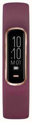 Garmin Vivosmart 4-х часовой трекер для детей маленький / средний фиолетовый розовое золото 010-01995-01