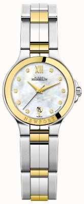 Michel Herbelin Ladies newport royale двухцветная мама из жемчужного бриллианта 14298/BT89