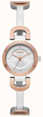 DKNY Женские городские часы с браслетом из нержавеющей стали NY2749