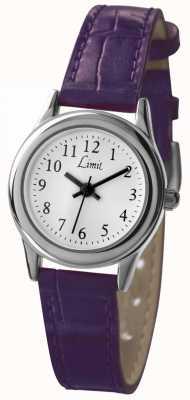 Limit Женский фиолетовый циферблат с белым ремешком 6932
