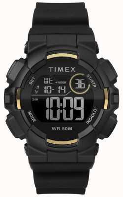 Timex Черный черный черный ремешок для женщин TW5M23600