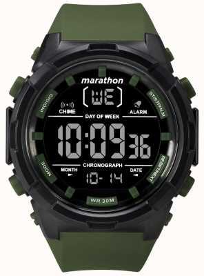 Timex Мужской 50мм черный оливковый ремень TW5M22200