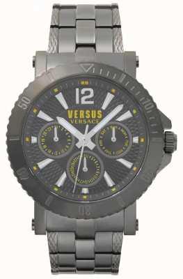 Versus Versace Мужской серый циферблат steenberg из нержавеющей стали SP52050018