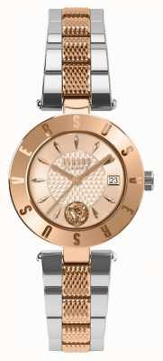 Versus Versace Женская эмблема розового золота набрать двухцветный браслет SP77260018