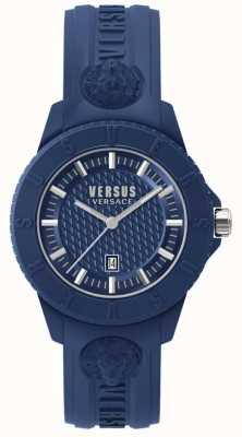 Versus Versace Токийский синий синий синий силикон SPOY210018