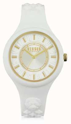 Versus Versace Белый белый силиконовый стакан белого цвета SOQ040015
