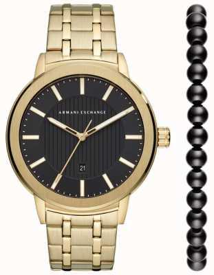 Armani Exchange Мужские городские часы подарочный набор AX7108