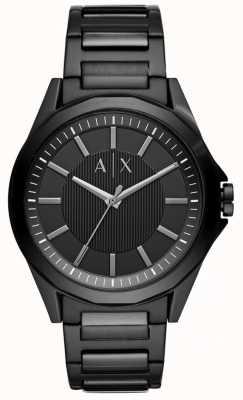 Armani Exchange Мужская черная нержавеющая сталь AX2620