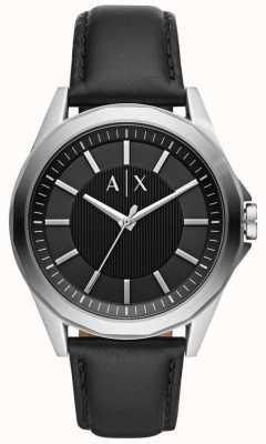 Armani Exchange Черный ремешок для мужчин AX2621