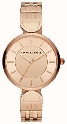 Armani Exchange Женское платье из розового золота AX5328