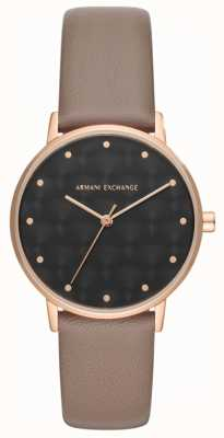 Armani Exchange Браслет из натуральной кожи AX5553
