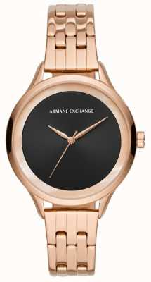 Armani Exchange Женское платье из розового золота AX5606