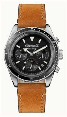 Ingersoll Автоматический хронограф scovill коричневый кожаный ремешок I06202