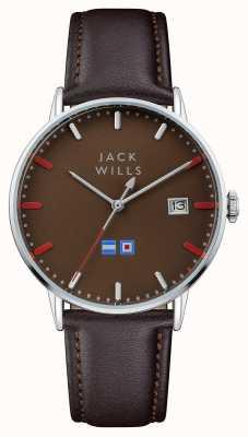 Jack Wills Мужской коричневый коричневый коричневый коричневый ремешок JW002BRBR