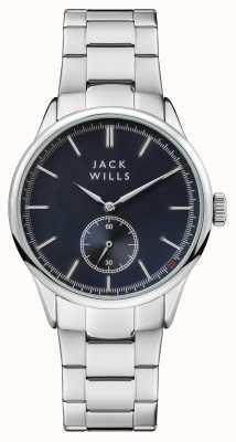 Jack Wills Мужской браслет из нержавеющей стали JW004BLSL