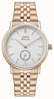 Jack Wills Женский браслет из белого розового золота с розовым золотом JW007WHRS