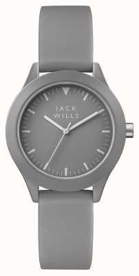 Jack Wills Серый силиконовый ремешок для женщин JW008GYGY
