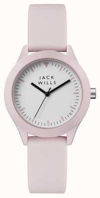 Jack Wills Розовый силиконовый ремешок для женщин JW008PKPK