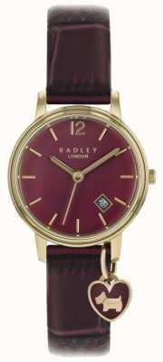 Radley Женские часы с розовым золотом фиолетовый ремешок RY2718