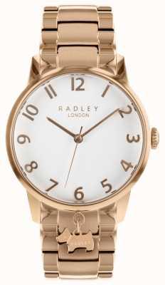 Radley Женские розовые часы из нержавеющей стали RY4362