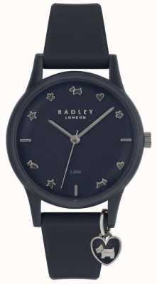Radley Женские часы с силиконовым ремешком с серебряными маркерами RY2691