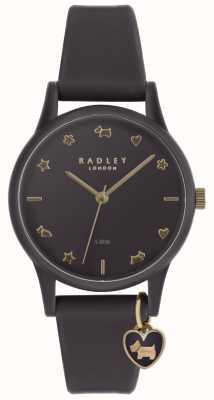 Radley Женские фиолетовые силиконовые часы с бледно-золотыми маркерами RY2696