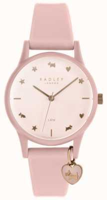Radley Женские часы с розовым силиконовым ремешком RY2730