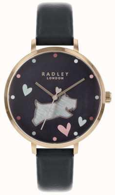 Radley Женские часы с черной собакой RY2680