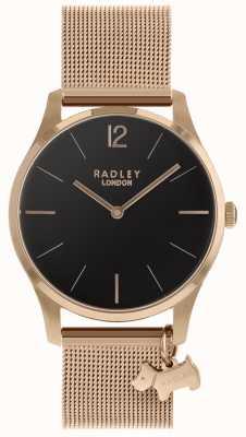 Radley Женские часы с розовым золотым ремешком RY4356