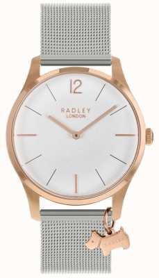Radley Женские часы | корпус из розового золота | ремешок из нержавеющей стали | RY4355