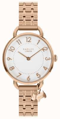 Radley Женские часы розового золота открытый браслет плеча RY4344