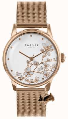 Radley Женские розовые позолоченные браслеты из нержавеющей стали из нержавеющей стали RY4348