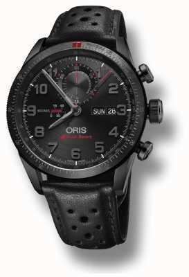 Oris Audi sport limited edition ii автоматический черный кожаный ремешок 01 778 7661 7784-SET LS