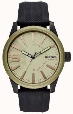 Diesel Мужские наручные часы черного ремешка DZ1875
