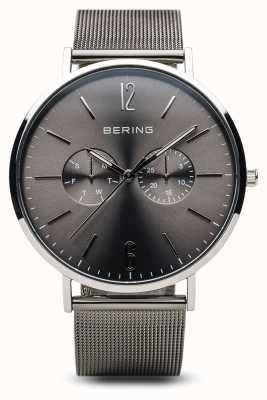 Bering Классический | полированное серебро | Мужской 14240-308