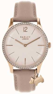 Radley Розовый кожаный ремешок для женщин RY2524