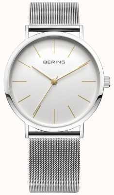 Bering Классические часы коллекции с сеткой и царапинами resista 13436-001