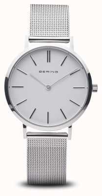 Bering Женские часы классические из нержавеющей стали серебро 14134-004