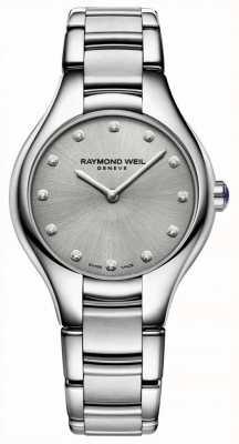 Raymond Weil Бриллиантовый браслет из нержавеющей стали 5132-ST-65081