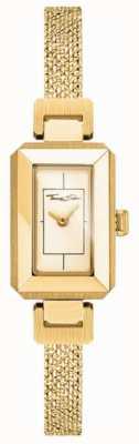 Thomas Sabo Браслет из желтого / золотого золота из нержавеющей стали, золотой циферблат WA0331-246-207-23