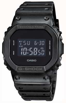 Casio Мужская полоса из резины g-shock, смола DW-5600BB-1ER