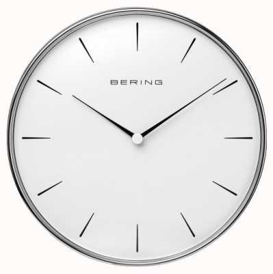 Bering Настенные часы из нержавеющей стали 90292-04R