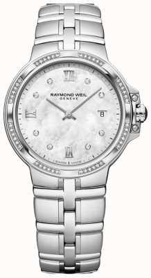 Raymond Weil Parsifal дамы кварц классический | 56 алмазов | перламутровый 5180-STS-00995