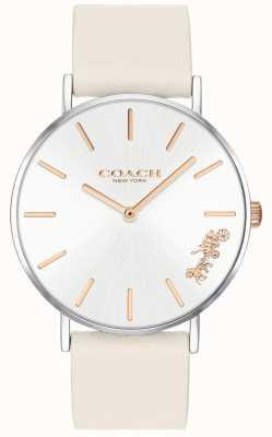 Coach Женские часы | мел белая кожа | белый набор 14503117