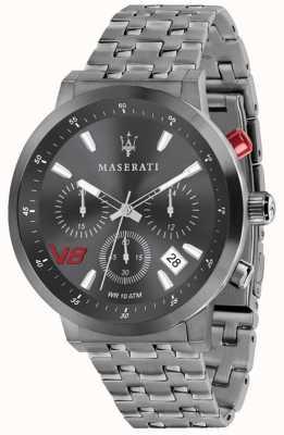 Maserati Mens gt 44mm | серый циферблат | серый браслет из нержавеющей стали R8873134001