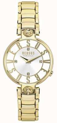 Versus Versace Женская одежда | серебряный диск | золотая нержавеющая сталь VSP490618