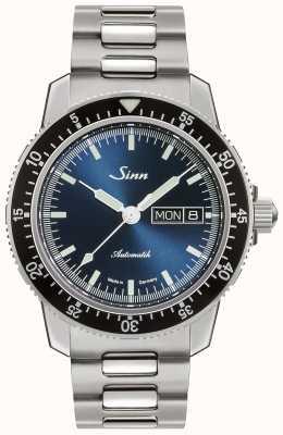 Sinn 104-й са иб | браслет из нержавеющей стали | синий циферблат 104.013-BM1040104S